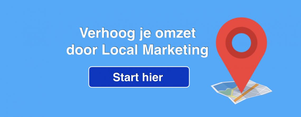Local Marketing brengt u meer klanten en extra omzet
